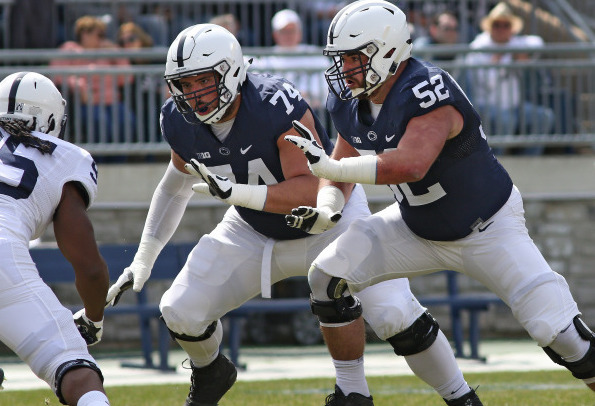 oline blue-white